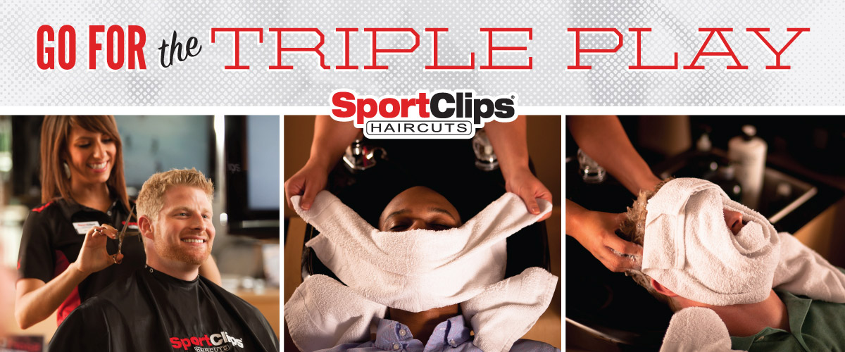 The Sport Clips Haircuts of South Gilbert Triple Play